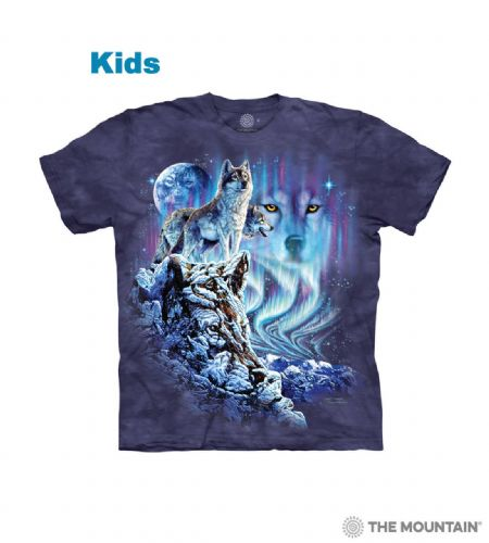 Find 10 Wolves T-shirt | Kids Wolf T-shirt | The Mountain®